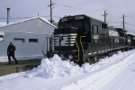 NS H82 in the snow