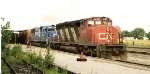 Conrail train CNSE