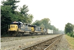 CR train SECS with CSX power