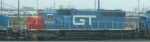 GTW SD40-2 5933