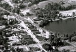 Milford  Michigan from Above 1959