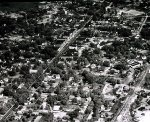Oxford Michigan from above 1948