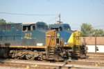 CSX Power in the ex-clinchfield yard