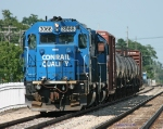 NS 3066 & 3067 B-1-G sits on the siding in Dowagiac, MI