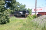 NS 9370 as seen from the former EJ&E right of way