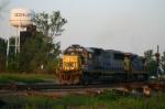 CSX 8520 pulls east