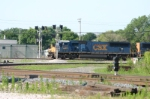 CSX 4735 is obscured by the darth vader