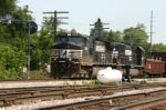NS 9583 passes the N&W position light signal