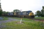 CSX 260 is now eastbound with a taconite train