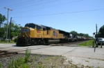 UP 4812 is leading 35J