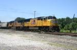 UP 5124 motors east on 14A