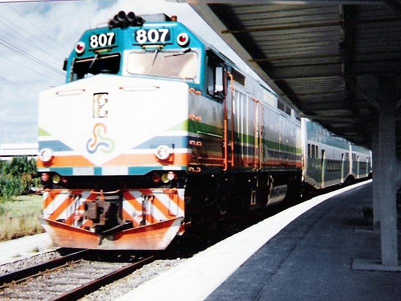 Tri-Rail F40PH-2C #807 in 1996