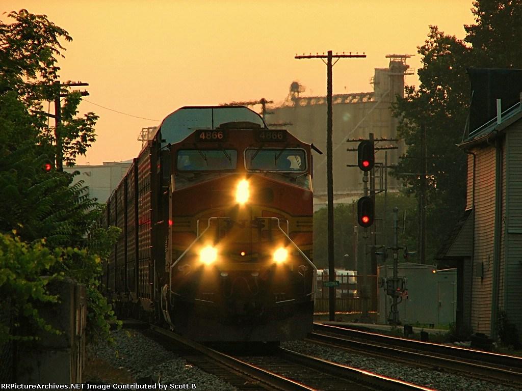 BNSF 4866 NS 280