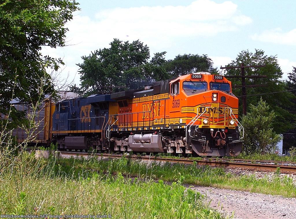 BNSF 5069 Q290