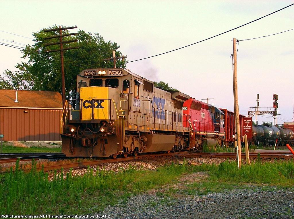 CSX 7509 Q516