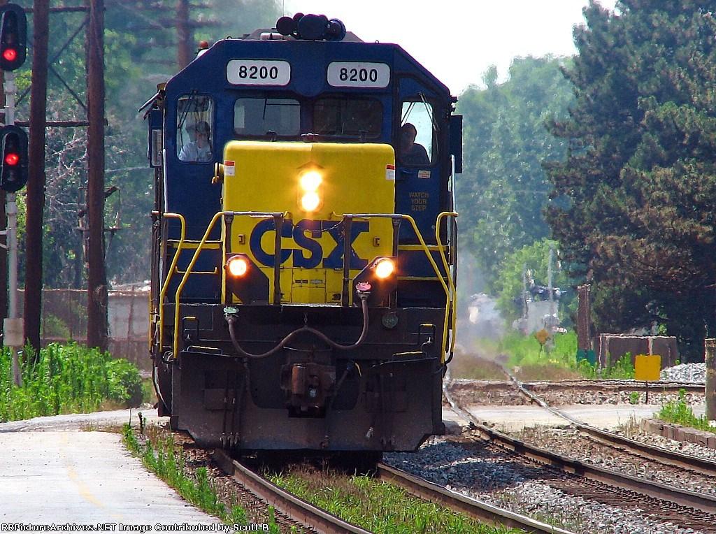 CSX 8200 Q378