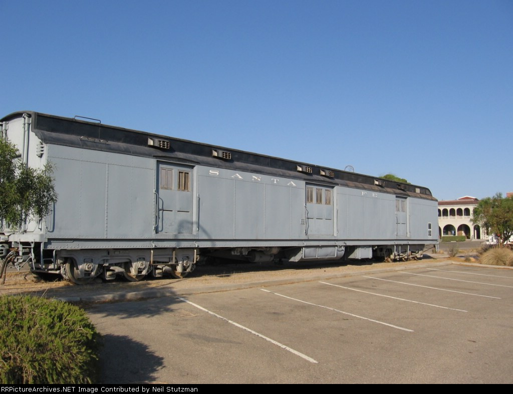 ATSF baggage car