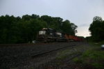 NS 6675 brings stone up the hill
