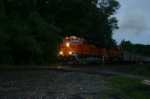 BNSF 5955 is on FEPX hoppers
