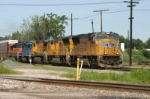 UP 4992 heads for Gibson Yard