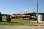 BNSF 1098 has a Z train headed for Chi town