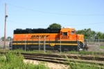 BNSF 2037 has new paint