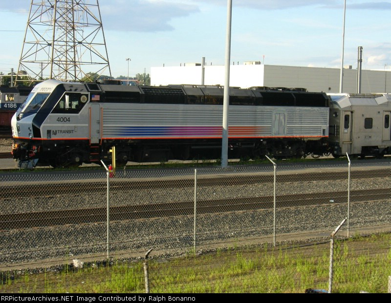 One of the new Alstom PL42AC's seen at the MMC from the CSX side of the fence