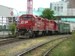 CP 3009 and 3003 matching 38s in new red paint