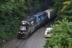 NS Train 264 appears out of Tunnel 25