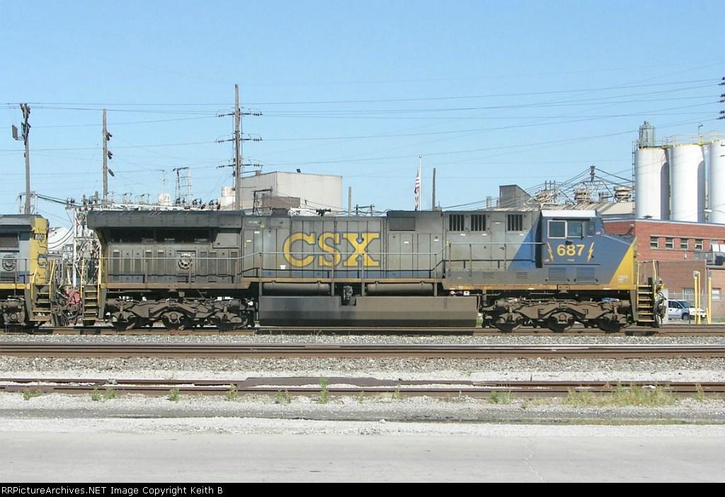 CSX 687 West