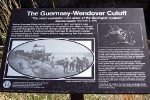 Guernsey Trench Informational Placard