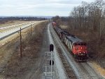 CSX Q398 East with CN Power