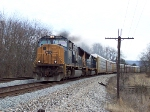 CSX Q261 smokes it on Spring House Curve