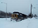 Autorack Train Stranded