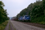 Eastbound hoppers outside Jeannette, PA