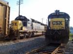 CSX 8157 & 5820