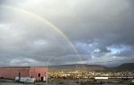 Rainbow over the Juniata Locomotive Shop
