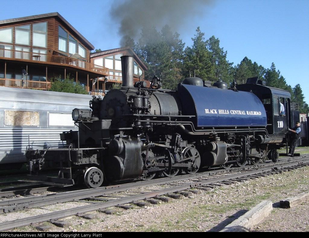 Black Hills Central 2-6-6-2T 110