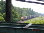 BNSF 4185 leads the Q380 w/212 axles @ 40 mph