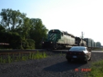 FURX 3038 & HLCX 9018 head EB w/CSX Train Q162