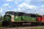 BNSF 9274 closeup