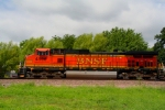 BNSF 4596 closeup