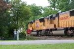Happy railfan