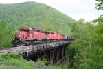 CP 5915 Crosses the Deerfield