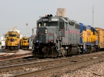 BNSF 6855, 3181, NREX 2163, and FWWR 2005
