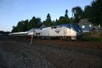 Overpowered Amtrak 509