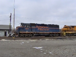 B&P #302  ex- Alleghany Railroad, idling in Riker Yard