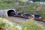 NS power at tunnel in Gallitzin, Pa