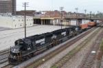 GP60's lead NS train 219