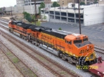 Closeup of BNSF gevo